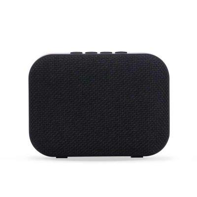 J.E Brindes - Caixa de som bluetooth multifunções. Material emborrachado, tela de proteção do auto-falante em tecido, parte inferior com borrachas anti-deslizantes....