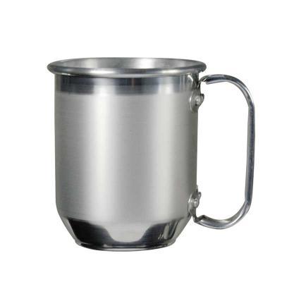 J.E Brindes - Caneca de Alumínio Gravada com seu logo  300 ml