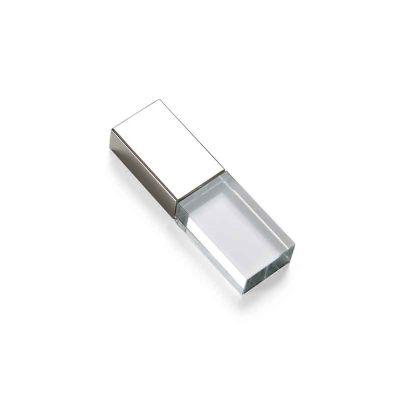 J.E Brindes - Pen Drive Vidro 4GB