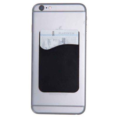 J.E Brindes - Adesivo Porta Cartão de Silicone para Celular