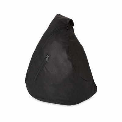 J.E Brindes - Bolsa transversal. Non-woven: 80 g/m². Com bolso frontal. 330 x 470 x 160 mm