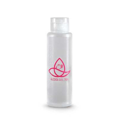 J.E Brindes - Álcool em Gel 100ml 70% antisséptico para higienização a seco das mãos e braços. Combate 99,9% dos germes e bactérias e hidrata a pele com solução pro...