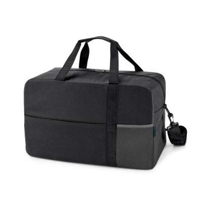 GJ Brindes - A HEXA Bolsa esportiva é uma mala incrível fabricada em Nylon 600D com fundo com placa semi-rígida para dar melhor sustentação. Possui bolso frontal c...