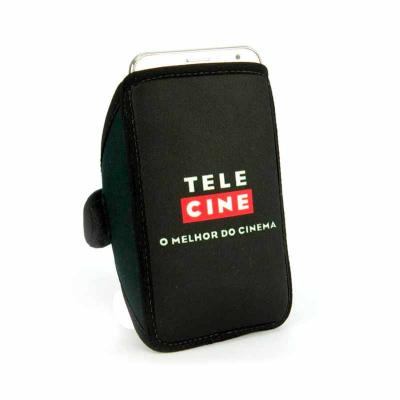 GJ Brindes - Braçadeira de celular em neoprene