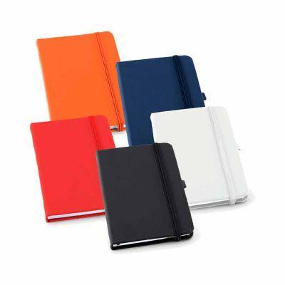 GJ Brindes - Caderno capa dura personalizado