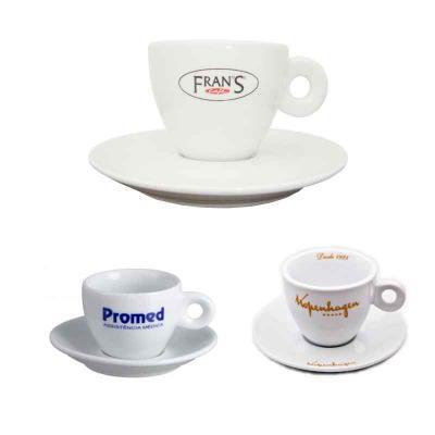 GJ Brindes - Xícara de café com pires Itália