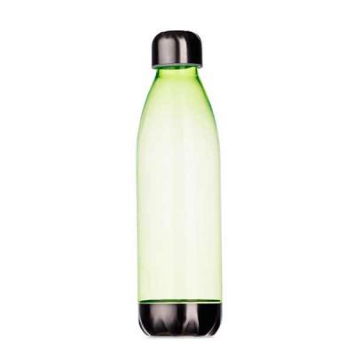 newsilk - - Squeeze plástico 700ml formato garrafa. - Corpo transparente colorido, possui tampa e base em alumínio. - Tamanho total aproximado (CxL): 25,5 cm x...
