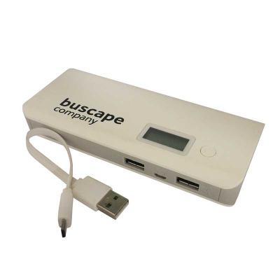 newsilk - Power Bank bateria externa carregador portátil emergência 9000mah CPC-TP968 USB  visor led lanterna Caracteristicas: Possui cabo USB para carregamento...