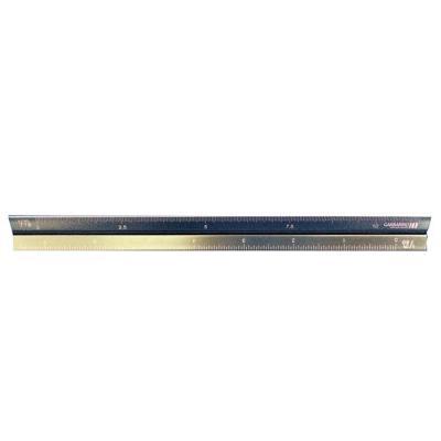 newsilk - Escalímetro metal Triangular 15cm  Escalas: 1:20, 1:25, 1:50, 1:75, 1:100 e 1:125  Códigos de cores para facilitar a identificação das escalas  Impres...