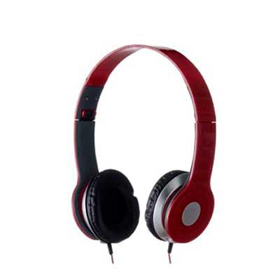 NewSilk - Fone de ouvido estéreo articulável, protetor em couro sintético com espuma e material plástico inteiro colorido com detalhes prata. Headfone de hastes...