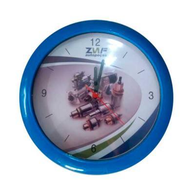 VC Cavalheiro - Relógio de parede seu logo bem colorido