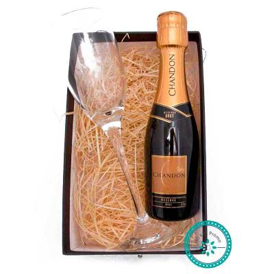 K3 Brindes - Kit Champagne