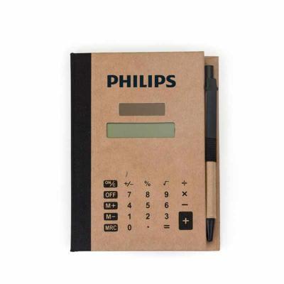 Brinde Show - Bloco de Anotações com Autoadesivos e Calculadora