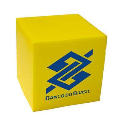 brinde-show - Cubo anti stress vinil oco Personalizado