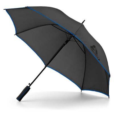 Brinde Show - Guarda-chuva. Poliéster 190T. Pega em madeira. Abertura automática.