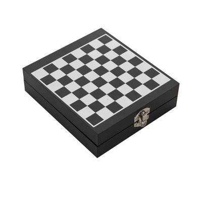 Brinde Show - Kit vinho xadrez 4 peças
