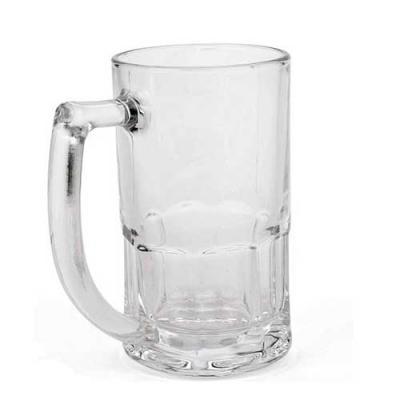 Conecta Brindes - Caneca de Chopp vidro Bristol transparente - 340 ml