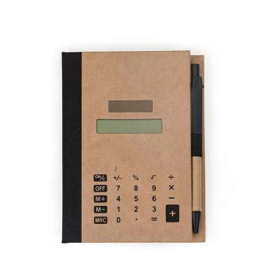 Spaceluz Brindes - Bloco de Anotações com  sticky notes e Calculadora