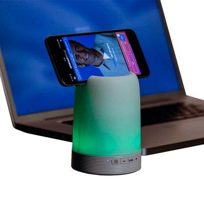 Spaceluz Brindes - Caixa de som multimídia com Porta caneta e Luminária