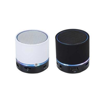 Spaceluz Brindes - Caixa de som multimídia com Bluetooth, rádio FM, possui entrada USB, micro SD (TF) ,AUX e P2, microfone integrado, falante de 3W , cabo USB/AUX, produ...