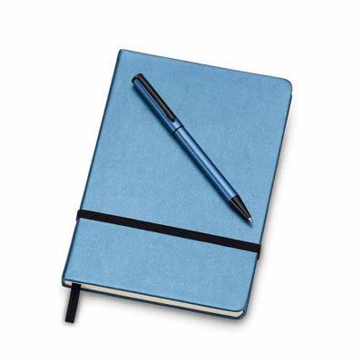 Spaceluz Brindes - Kit executivo com caderneta e caneta em estojo