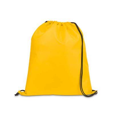 Spaceluz Brindes - Mochila saco confeccionada em Nylon