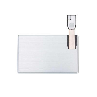 Spaceluz Brindes - Pen Card 4GB Alumínio