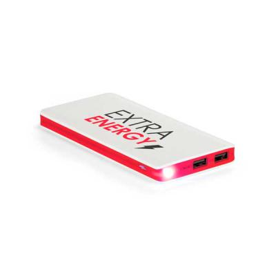 Spaceluz Brindes - Bateria portátil. ABS. Com LED. Bateria de lítio. Capacidade: 11.000 mAh. Tempo de vida ≥ 500 ciclos. Com entrada 5V/1A, saída 5V/1-2.1A e 2 por...