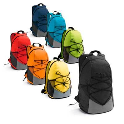 Spaceluz Brindes - Mochila com bolsos laterais em tela e bolso interior