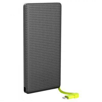 Spaceluz Brindes - Power bank slim com cabo 5000mAh Kimaster