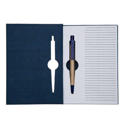 Inmark Brindes - Bloco de anotações ecológico com caneta