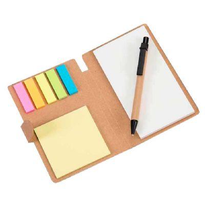 Inmark Brindes - Bloco de Anotações com Sticky notes