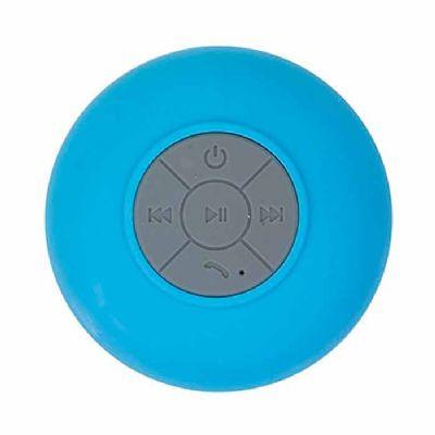 Prieto Brindes e Presentes Corporativos - Caixa de Som à prova de água cor azul