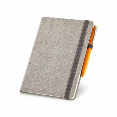 Prieto Brindes e Presentes Corporativos - Caderno capa dura em algodão