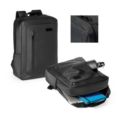 Mochila para notebook. Poliéster 600D impermeável. Compartimento principal...