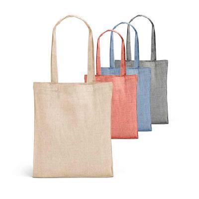 Prieto Brindes e Presentes Corporativos - Sacola de algodão reciclado: 150 g/m². Alças de 65 cm. Personalizada com a sua marca!