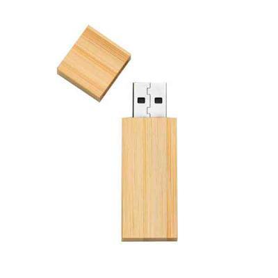 Totus Brindes - Pendrive Bambu