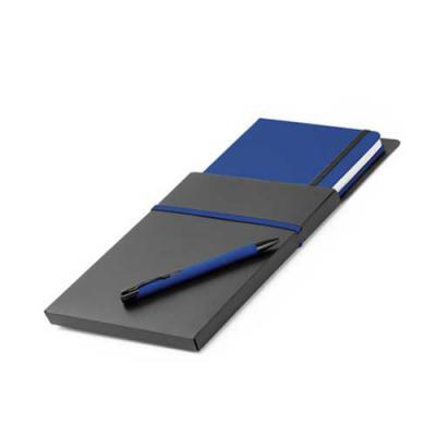 Totus Brindes - Kit de caderno e caneta esferográfica