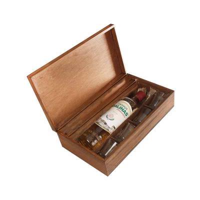 Eco Design - Kit Cachaça com Cachaça Salinas, 4 copos e caixa