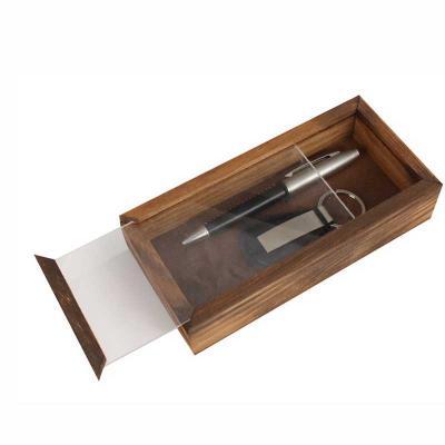 Eco Design - Kit Escritório com Caneta, Chaveiro e caixa