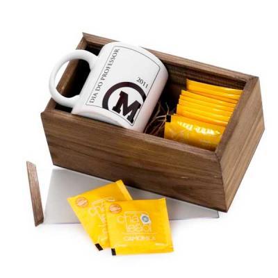 Eco Design - Kit Chá com caixa