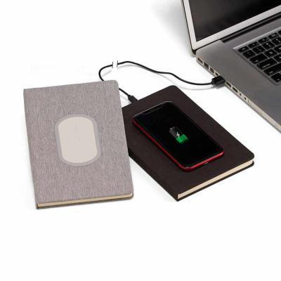Eco Design - Kit Caderno de anotações personalizado e carregador
