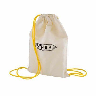 Dafne Bolsas Promocionais - Mochila tipo saco em lona de algodão.