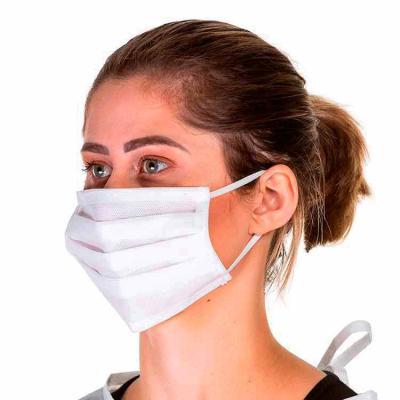Dafne Bolsas Promocionais - Máscara TNT - Elástico e Clipe nasal