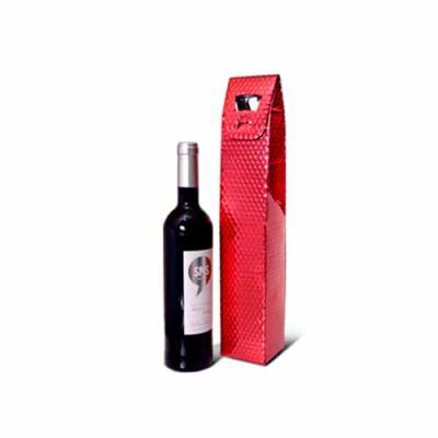Fabrica do Tapasol - Bolsa Metalizada para Garrafa de Vinho