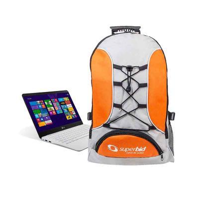 Canal Promocional - Mochila com porta notebook personalizada