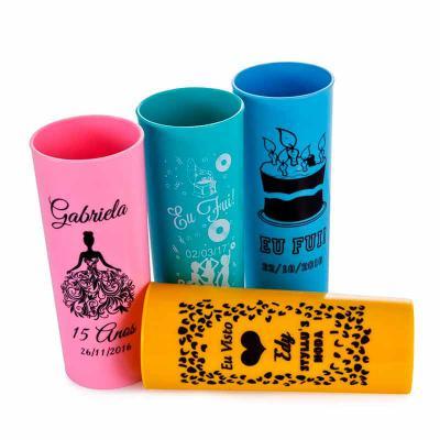 Gráfica Comvil - Copo long drink personalizado Acrílico 330ml
