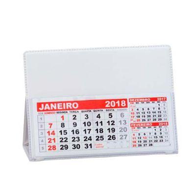 """Amoriello Brindes Promocionais - Base para calendário de pvc. Material pvc branco com """"bolso"""" plástico para encaixar o calendário(não acompanha), basta encaixar a """"rebarba"""" no bolso p..."""