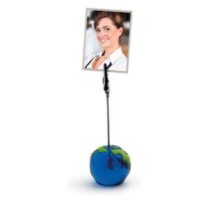 Amoriello Brindes Promocionais - Memo clipe formato de globo.