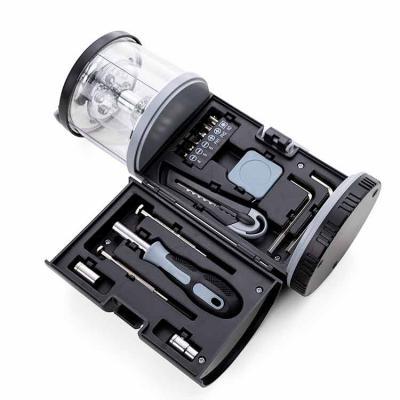 Amoriello Brindes Promocionais - Kit Ferramenta e Lanterna LED Personalizada